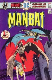 Cover Thumbnail for Man-Bat (DC, 1975 series) #1