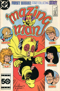 Cover Thumbnail for 'Mazing Man (DC, 1986 series) #1 [Direct Sales]