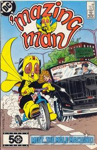 Cover Thumbnail for 'Mazing Man (DC, 1986 series) #4 [Direct Sales]