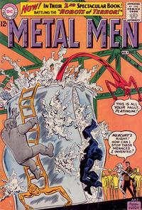 Cover Thumbnail for Metal Men (DC, 1963 series) #2