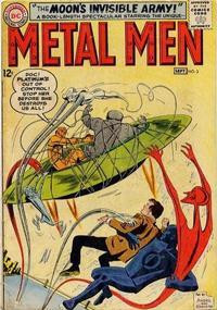 Cover Thumbnail for Metal Men (DC, 1963 series) #3