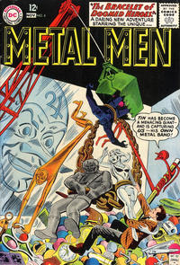 Cover Thumbnail for Metal Men (DC, 1963 series) #4