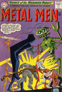 Cover Thumbnail for Metal Men (DC, 1963 series) #5