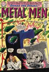 Cover Thumbnail for Metal Men (DC, 1963 series) #12