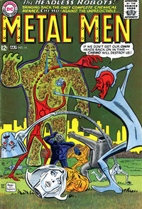 Cover Thumbnail for Metal Men (DC, 1963 series) #14