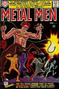 Cover Thumbnail for Metal Men (DC, 1963 series) #19