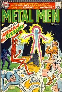 Cover Thumbnail for Metal Men (DC, 1963 series) #22