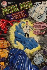 Cover Thumbnail for Metal Men (DC, 1963 series) #31