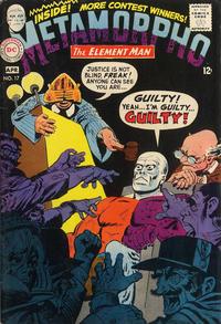 Cover Thumbnail for Metamorpho (DC, 1965 series) #17