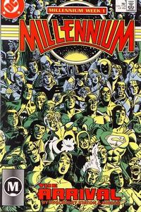 Cover Thumbnail for Millennium (DC, 1988 series) #1 [Direct]