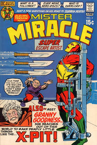 Cover Thumbnail for Mister Miracle (DC, 1971 series) #2