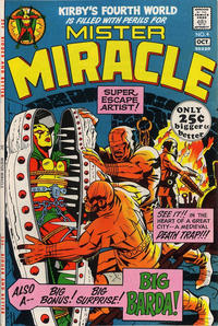 Cover Thumbnail for Mister Miracle (DC, 1971 series) #4