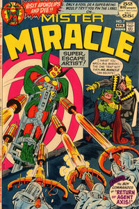 Cover Thumbnail for Mister Miracle (DC, 1971 series) #7