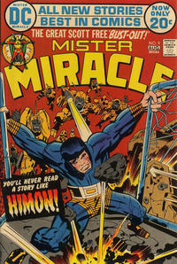 Cover Thumbnail for Mister Miracle (DC, 1971 series) #9