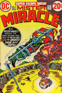 Cover Thumbnail for Mister Miracle (DC, 1971 series) #11