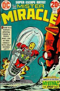 Cover Thumbnail for Mister Miracle (DC, 1971 series) #12