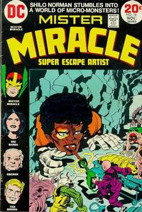 Cover Thumbnail for Mister Miracle (DC, 1971 series) #16