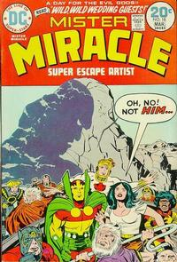 Cover Thumbnail for Mister Miracle (DC, 1971 series) #18