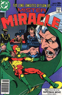 Cover Thumbnail for Mister Miracle (DC, 1971 series) #19