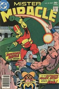 Cover Thumbnail for Mister Miracle (DC, 1971 series) #20