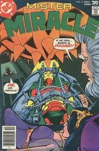 Cover Thumbnail for Mister Miracle (DC, 1971 series) #21