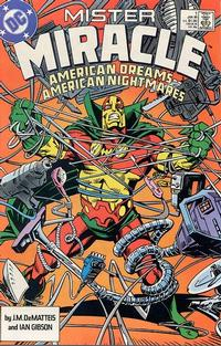 Cover Thumbnail for Mister Miracle (DC, 1989 series) #1 [Direct]