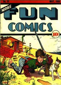 Cover Thumbnail for More Fun Comics (DC, 1936 series) #31