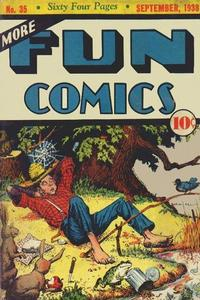 Cover Thumbnail for More Fun Comics (DC, 1936 series) #35