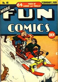 Cover Thumbnail for More Fun Comics (DC, 1936 series) #40