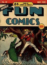 Cover Thumbnail for More Fun Comics (DC, 1936 series) #43