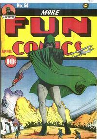 Cover Thumbnail for More Fun Comics (DC, 1936 series) #54