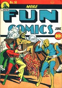 Cover Thumbnail for More Fun Comics (DC, 1936 series) #56