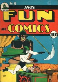 Cover Thumbnail for More Fun Comics (DC, 1936 series) #58