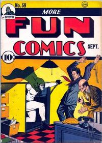 Cover Thumbnail for More Fun Comics (DC, 1936 series) #59