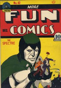 Cover Thumbnail for More Fun Comics (DC, 1936 series) #62