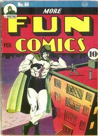 Cover Thumbnail for More Fun Comics (DC, 1936 series) #64