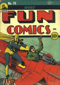 Cover Thumbnail for More Fun Comics (DC, 1936 series) #70