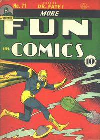 Cover Thumbnail for More Fun Comics (DC, 1936 series) #71