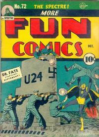 Cover Thumbnail for More Fun Comics (DC, 1936 series) #72