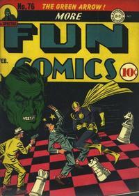 Cover Thumbnail for More Fun Comics (DC, 1936 series) #76