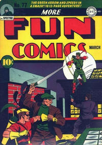 Cover Thumbnail for More Fun Comics (DC, 1936 series) #77