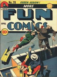 Cover Thumbnail for More Fun Comics (DC, 1936 series) #78
