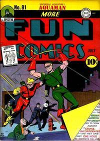 Cover Thumbnail for More Fun Comics (DC, 1936 series) #81