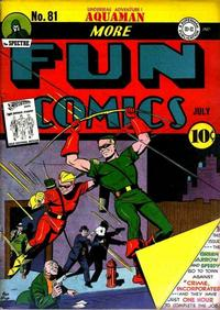 Cover Thumbnail for More Fun Comics (DC, 1936 series) #81