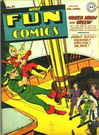 Cover for More Fun Comics (DC, 1936 series) #91