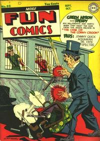 Cover Thumbnail for More Fun Comics (DC, 1936 series) #93