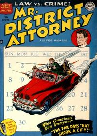 Cover Thumbnail for Mr. District Attorney (DC, 1948 series) #1
