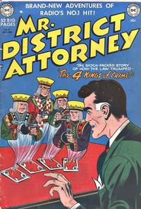 Cover Thumbnail for Mr. District Attorney (DC, 1948 series) #19