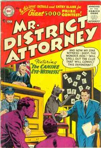 Cover Thumbnail for Mr. District Attorney (DC, 1948 series) #53