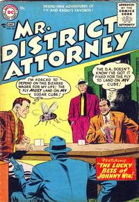 Cover Thumbnail for Mr. District Attorney (DC, 1948 series) #54